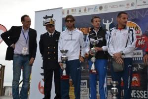 Il podio della Messina Marathon 2013