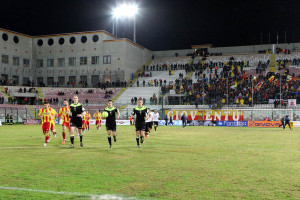 L'ingresso in campo