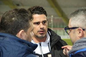 Di Napoli a colloquio con il ds Argurio e l'avvocato Villari