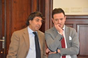 Lello Manfredi e Vittorio Fiumanò
