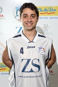 Gabriele Adorno, sfortunata la sua seconda stagione alla Basket School Messina