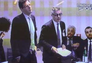 Gli avvocati Giovanni Villari e Fabrizio Duca
