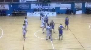 Gruppo Zenith Me - Cestistica Torrenovese, l'inizio del match