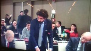 Il sostituto procuratore Fabrizio Monaco