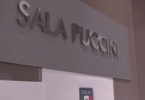 La Sala Puccini ospita i giornalisti