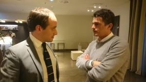 L'avvocato Antonio Fazio ed il suo assistito Arturo Di Napoli
