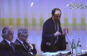 L'avvocato Antonio Fazio in aula al fianco di Grassani e Villari