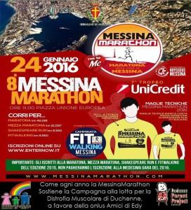Locandina Messina Marathon