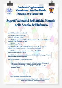Locandina seminario Caltanissetta