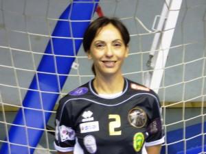 Luisa Chillè, pivot dell'Handball Messina