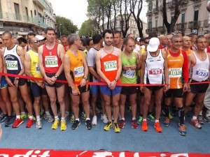 Partenza Messina Marathon