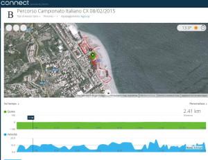 "Il percorso del ""2° Ciclocross della Tonnara"""