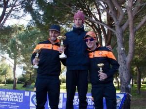 Da sinistra Salvatore Santuccio, Paolo Calabrese e Francesco Caruso