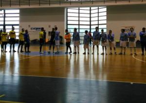 Siac-Pgs Luce: le squadre a inizio partita