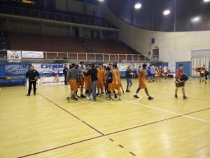 La festa dell'Amatori Messina Under 16 Eccellenza per il pass per la seconda fase