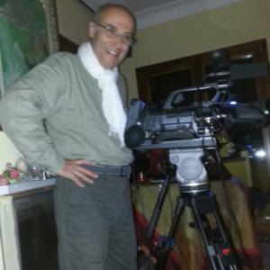 Il regista Giuseppe Romeo Pisano