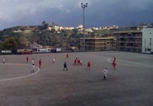 Una fase del derby Messana-Città di Messina
