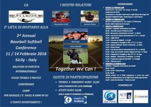 2^ Annual Baseball/Softball Conference