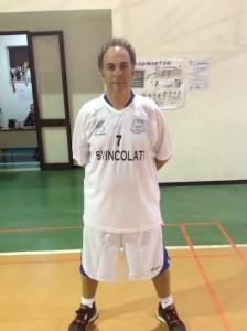 Il presidente-giocatore Riccardo Giambò (Svincolati)