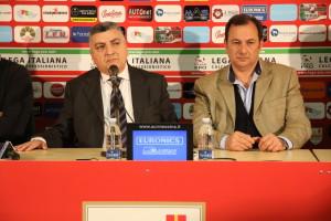 I vice-presidenti dell'ACR Messina Gugliotta ed Oliveri