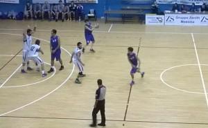 Gruppo Zenit Messina NP Marsala, una fase di gioco