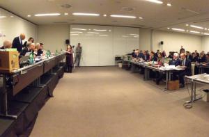 Il dibattimento è ospitato nella sala Raffaello dell'NH Vittorio Veneto