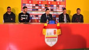 Il ds Argurio in conferenza stampa