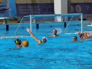 Fase di gioco Ossidiana Marbi-Basilicata Nuoto