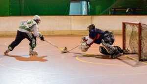 L'Hockey King Messina in azione