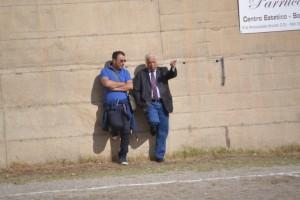 I responsabili AICS Alessandro Cacciotto e Lillo Margareci