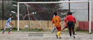 Il gol dello 0-1, firmato da Puliafito