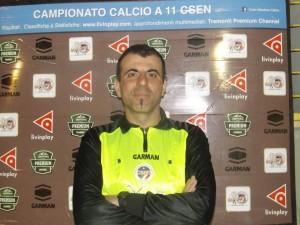 L'arbitro Giovanni Priolo