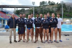 Squadra e tecnico dell'Ossidiana Marbi Messina