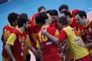 Il team della Pallavolo Messina