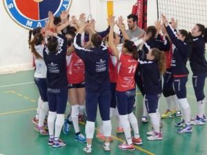 Le ragazze del Santa Teresa Volley