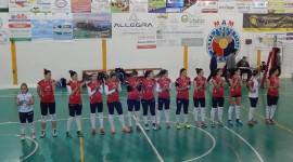 Santa Teresa Volley schierata in campo