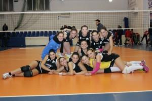Il team della Saracena Volley