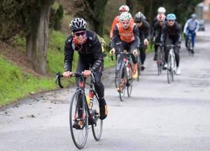 il ciclista dilettante Andrea Previtera