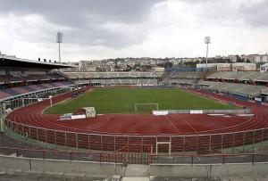 Lo stadio di Catania