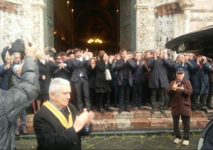 funerale Mino Licordari (1)