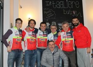 presentazione team bike