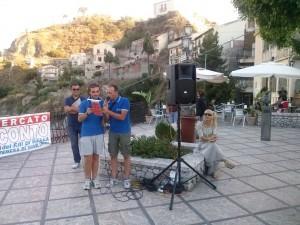 Antonello Aliberti al Trofeo Città di Savoca