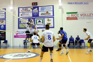 La Volley Brolo in azione