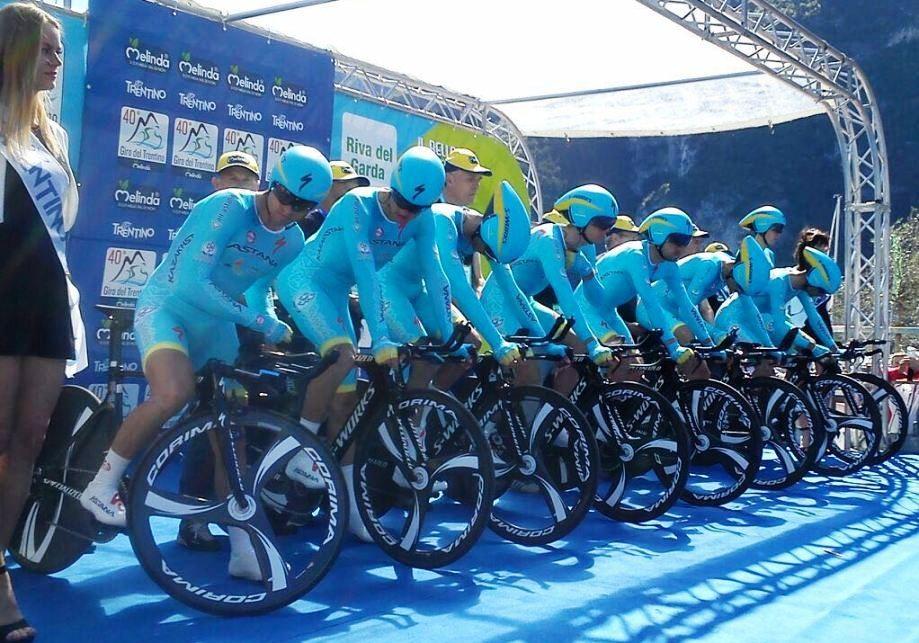 Astana al Giro del Trentino