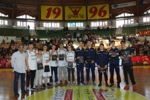 Il Basket Barcellona premia i giovani per i grandi successi del settore giovanile