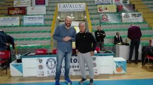 I due coach Vigilante (Foggia) e Sidoti (Patti)