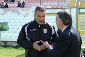 Lello Di Napoli a colloquio con Pietro Gugliotta (foto Alessandro Denaro)