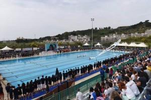 Cerimonia d'apertura della seconda giornata di gare