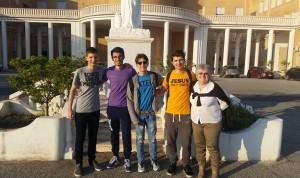 Andrea Iannello, Davide Gelardi, Antonio Iannello e Silvana Giacobbe