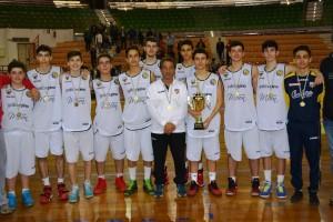Il Basket Barcellona U 16 è campione regionale